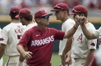 Dave Van Horn, players recap CWS win over Texas