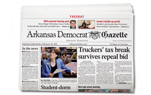 Arkansas Democrat Gazette (Little Rock Edition)